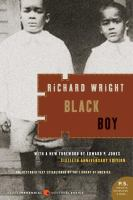 Cover image for Black boy : (American hunger) : a record of childhood and youth