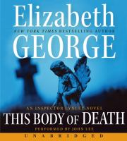 Cover image for This body of death. bk. 16 Inspector Lynley series