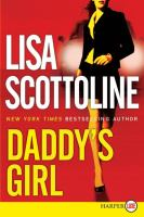 Cover image for Daddy's girl [large print]