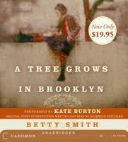 Cover image for A tree grows in Brooklyn [sound recording CD] (performed by Kate Burton)