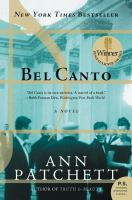 Cover image for Bel canto a novel