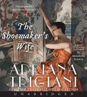 Cover image for The shoemaker's wife [sound recording CD] : a novel