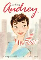 Cover image for Just being Audrey