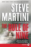 Cover image for The rule of nine. bk. 11 [large print] : Paul Madriani series