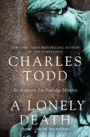 Cover image for A lonely death