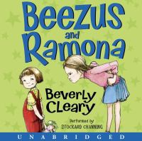 Cover image for Beezus and ramona Ramona Quimby Series, Book 1.