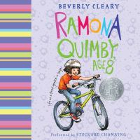 Cover image for Ramona quimby, age 8 Ramona Quimby Series, Book 6.