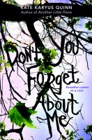Cover image for (Don't you) forget about me