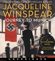 Imagen de portada para Journey to munich Maisie Dobbs Series, Book 12.