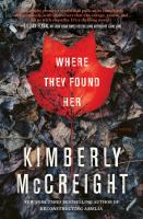 Cover image for Where they found her : a novel