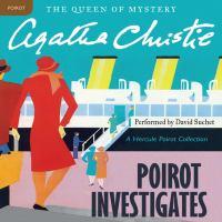 Cover image for Poirot investigates Hercule Poirot Series, Book 3.