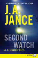 Cover image for Second watch. bk. 21 J. P. Beaumont mysteries series