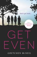 Cover image for Get even