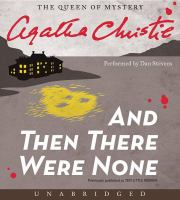 Cover image for And then there were none [sound recording CD]