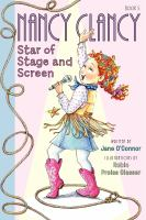 Cover image for Nancy Clancy, star of stage and screen. bk. 5