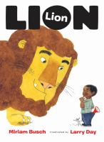 Cover image for Lion, lion
