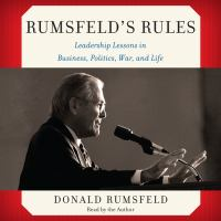 Cover image for Rumsfeld's rules