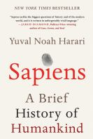 Cover image for Sapiens : a brief history of humankind