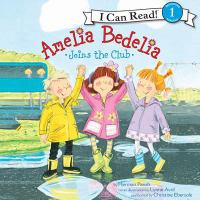Cover image for Amelia bedelia joins the club I can read level 1.