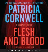 Cover image for Flesh and blood. bk. 22 Kay Scarpetta series