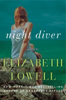 Cover image for Night diver [large print] : a novel