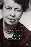 Cover image for The autobiography of Eleanor Roosevelt