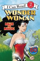 Cover image for Maze of magic : Wonder Woman series
