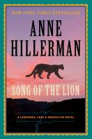 Cover image for Song of the lion. bk. 3 : Leaphorn, Chee & Manuelito series