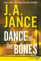 Cover image for Dance of the bones. bk. 22 [large print] : J.P. Beaumont series