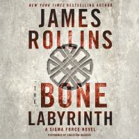 Cover image for The bone labyrinth Sigma Force Series, Book 11.