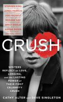 Cover image for Crush : writers reflect on love, longing, and the lasting power of their first celebrity crush