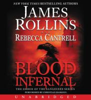 Cover image for Blood infernal. bk. 3 Order of the Sanguines series