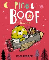 Cover image for Pine & Boof : blast off!