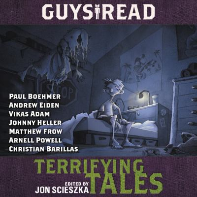 Cover image for Guys read Terrifying Tales.
