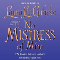 Imagen de portada para No mistress of mine