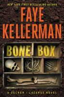 Imagen de portada para Bone box. bk. 24 : Peter Decker/Rina Lazarus series