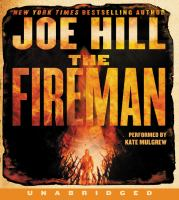 Cover image for The fireman [sound recording CD] : [a novel]