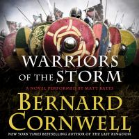Cover image for Warriors of the storm The Warrior Chronicles, Book 9.