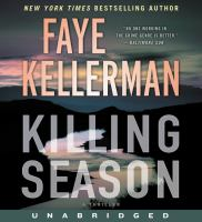 Cover image for Killing season [sound recording CD] : a thriller