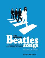 Cover image for The complete Beatles songs : the stories behind every track written by the Fab Four