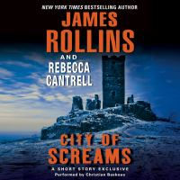 Cover image for City of screams Order of the Sanguines Series, Book 0.