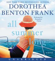 Cover image for All summer long [sound recording CD] : a novel