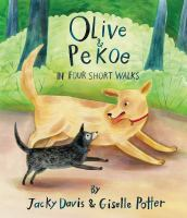 Cover image for Olive & Pekoe in four short walks