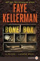 Cover image for Bone box. bk. 24 [large print] : Peter Decker/Rina Lazarus series