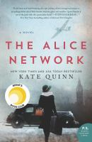 Cover image for The Alice network [eBook] : a novel
