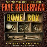 Cover image for Bone box Peter Decker and Rina Lazarus Series, Book 24.
