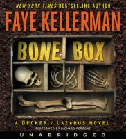 Cover image for Bone box. bk. 24 [sound recording CD] : Peter Decker/Rina Lazarus series