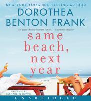 Cover image for Same beach, next year [sound recording CD] : a novel