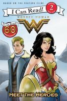 Cover image for Meet the heroes : Wonder Woman series