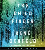 Cover image for The child finder [sound recording CD]